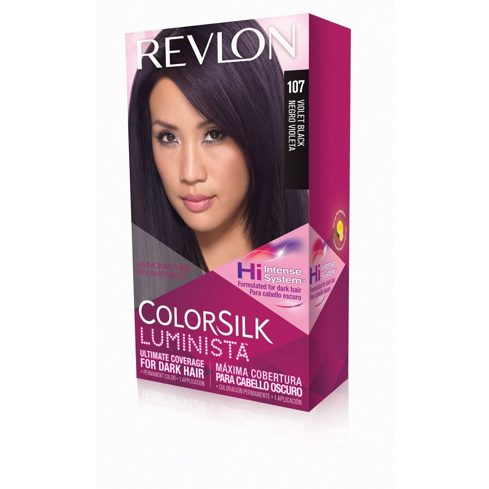 Revlon Colorsilk Luminista Violet Black