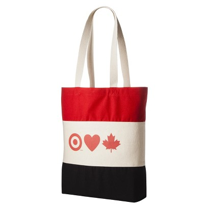 Target Loves Canada Cotton Tote