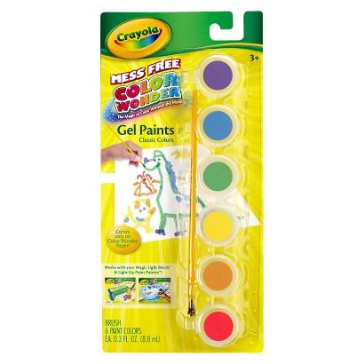 Crayola Color Wonder Gel Paints Classic