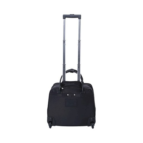 Embark Women's Rolling Briefcase - Black