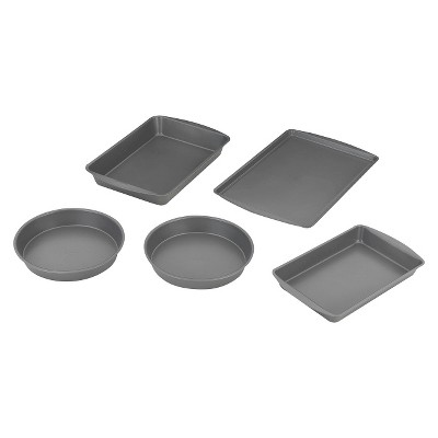 5 Piece Bakeware Box Set - Grey - Room Essentials™