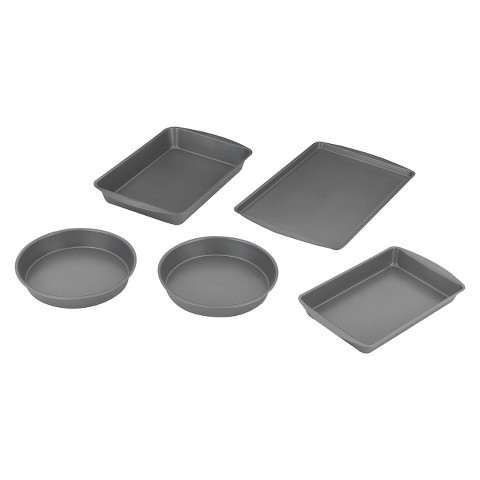 Room Essentials™ 5 Piece Bakeware Box Set - Grey
