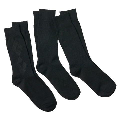 Merona® Men's 3Pk Argyle Dress Socks -  Assorted Colors