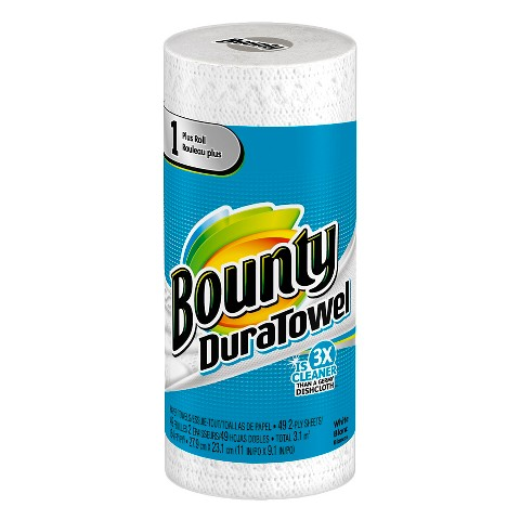 Bounty duratowel paper towel 1 plus roll target for Uses for paper towel rolls