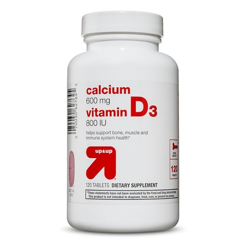 up & up™ Calcium + D3 Tablets - 120 Count