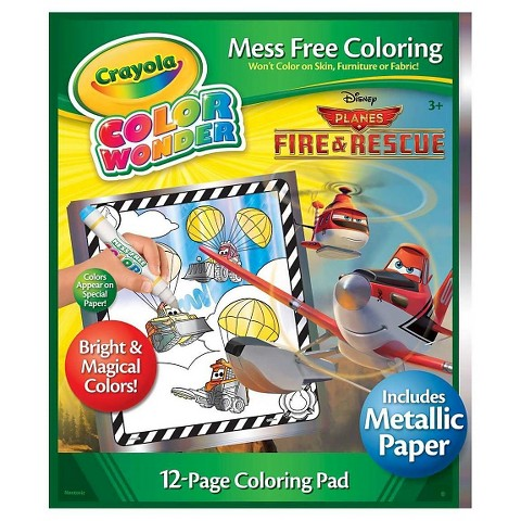 Crayola® Color Wonder Refill Book - Planes