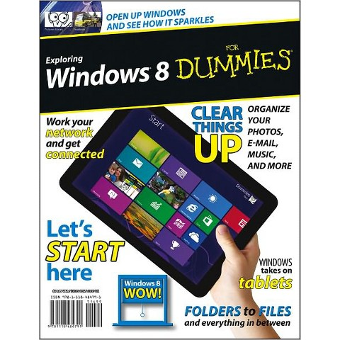Exploring Windows 8 for Dummies (Paperback)