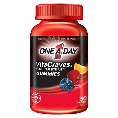 One A Day® Vitacraves Multivitamin Gummies for Adults