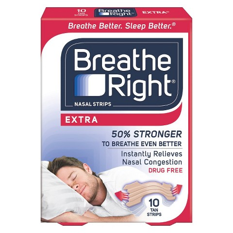 Breathe Right® Extra Tan Nasal Strips