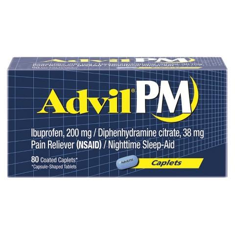 Advil®PM Pain Reliever Caplets