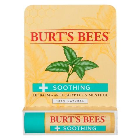 Burt's Bees Soothing Eucalyptus & Menthol Lip Balm