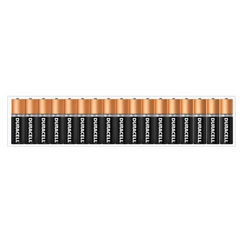 Duracell Coppertop AA Batteries - 34 Count - (65992)