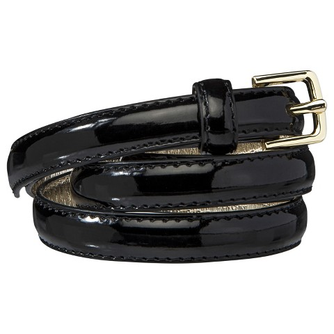 Women's Merona® Patent Skinny Belt