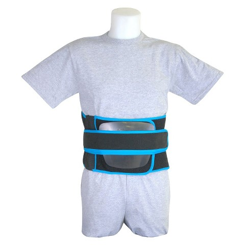 Drive Medical Active Care Back Support - Black and Blue (Large)