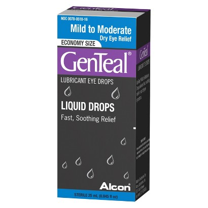GenTeal® Mild To Moderate Dry Eye Relief Lubricant Eye Drops - 0.85 oz