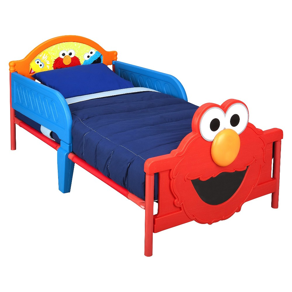 Delta Children 3-D Toddler Bed - Elmo