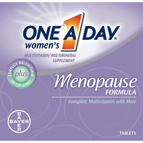 One A Day® Menopause Support Multivitamin Tablets for Women - 50 Count