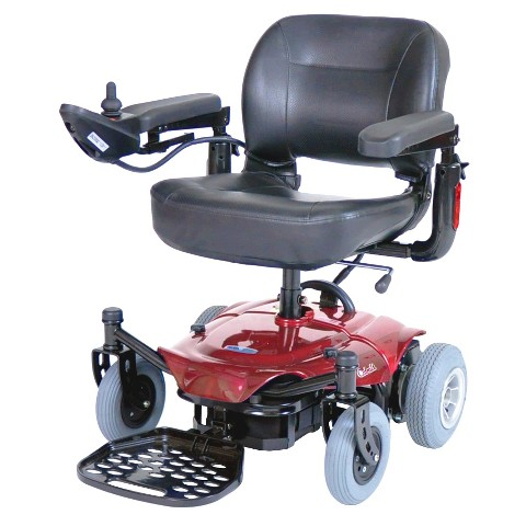Drive Medical Cobalt Power Wheelchair - Red