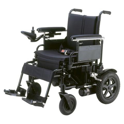 Drive Medical Cirrus Foldable wheelchair - Black