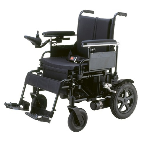 "Drive Medical Cirrus Foldable wheelchair - Black (18"")"