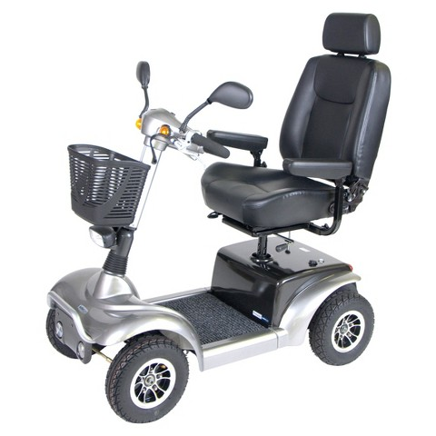 "Drive Medical Prowler 4 Wheel Full Size Scooter - Silver (20"")"
