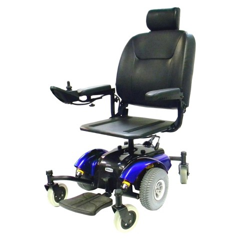 Drive Medical Intrepid Standard Power Wheelchair - Blue