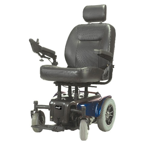 "Drive Medical Medalist Power Wheelchair - Blue(24"")"