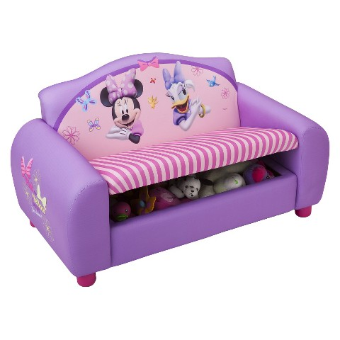Delta Children's Products Upholstered Sofa - Disney Minnie Mouse