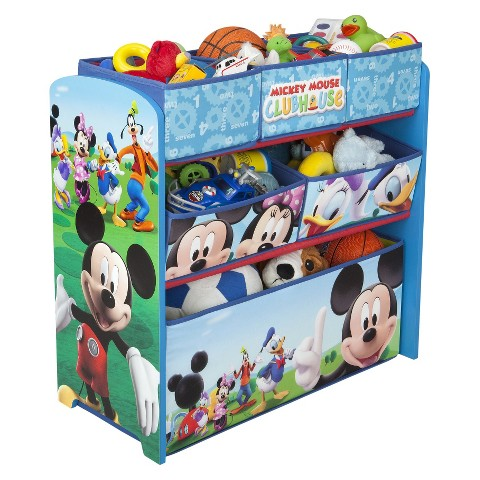 Delta Children's Products Multi-Bin Organizer - Mickey Mouse