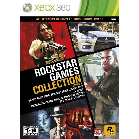 Rockstar Games Collection: Edition 1 (Xbox 360)
