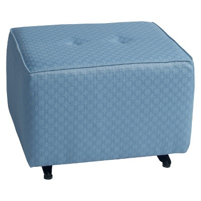Little Castle Gliding Ottoman with Buttons - Halo Bay