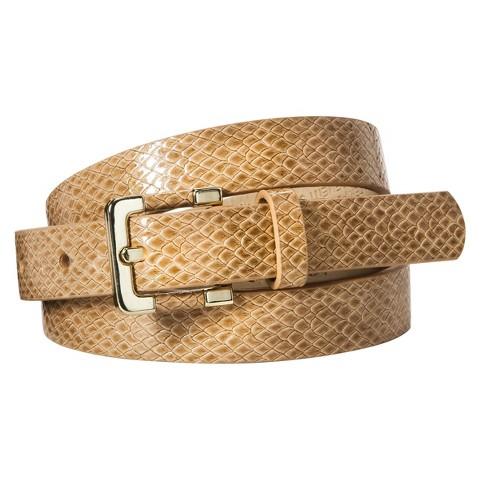 Merona® Textured Career Belt - Camel