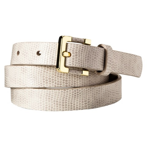 Merona® Textured Career Belt - Natural