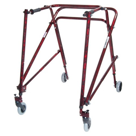 Drive Medical Nimbo Gait Trainer for Adult - Red
