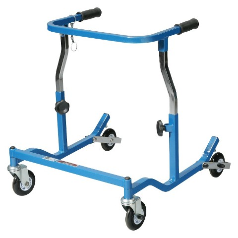 Drive Medical Pediatric Anterior Safety Roller - Blue
