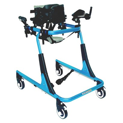 Drive Medical Ankle Prompts for Trekker Gait Trainer - Blue and Black (Small)