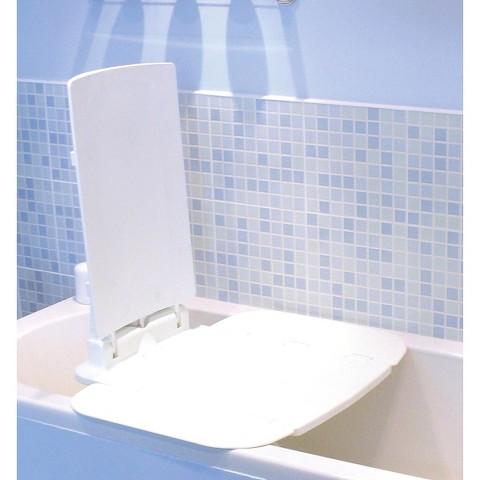 Drive Medical AquaJoy Premier Plus Reclining Bath Lift - White