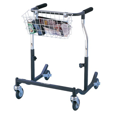 Drive Medical Anterior Safety Walkers for Adults - Silver and Black