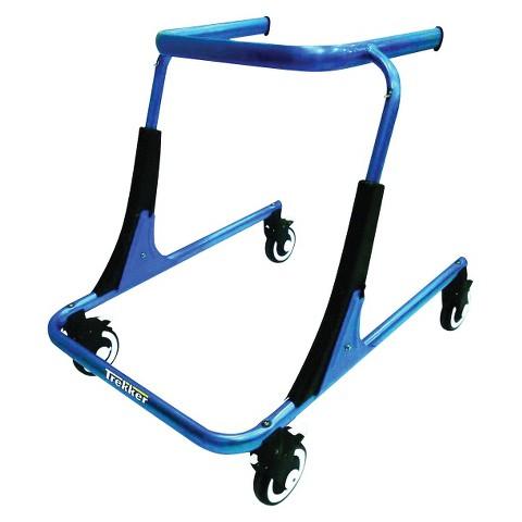 Drive Medical Trekker Gait Trainer - Blue and Black