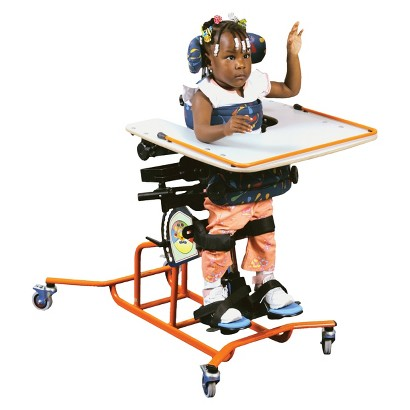 Drive Medical Positioning Stander - White and Orange (Small)