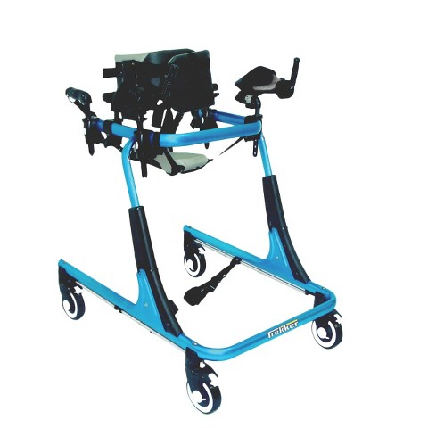 Drive Medical Posterior Ankle Prompts for Trekker Gait Trainer -Black and Blue (Medium)