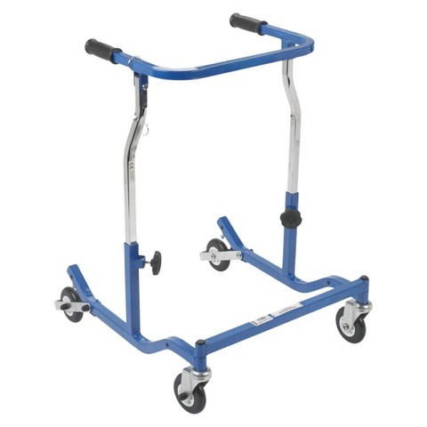 Drive Medical Adult Anterior Safety Walkers - Blue
