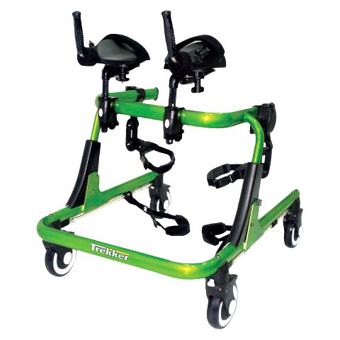 Drive Medical Thigh Prompts for Trekker Gait Trainer - Green and Black (Large)