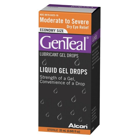 GenTeal® Geldrops Moderate to Severe Dry Eye Relief Lubricant Eye Drops - 0.84 oz