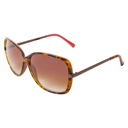Mossimo® Square Sunglasses with Metal Temples - Tortoise/Pink