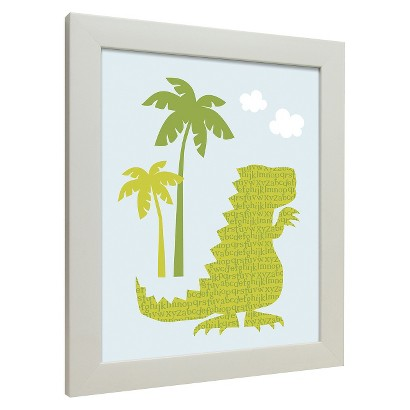 Icons - Dinosaurs Walk Wall Art  - Stegosaurus