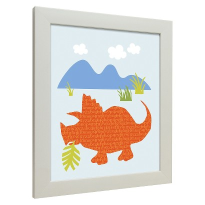 Icons - Dinosaurs Walk Wall Art - Tricerotops