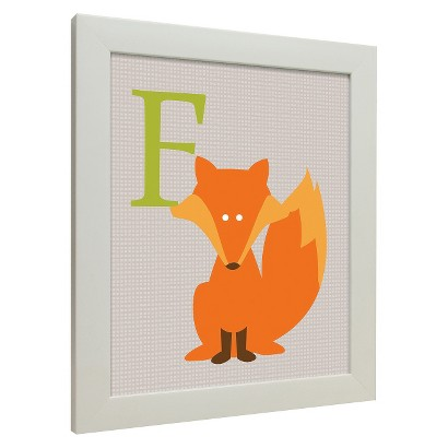Icons - Forest Friends Wall Art - Fox