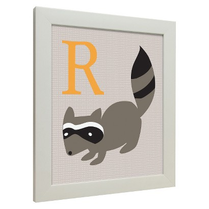 Icons - Forest Friends Wall Art - Raccoon