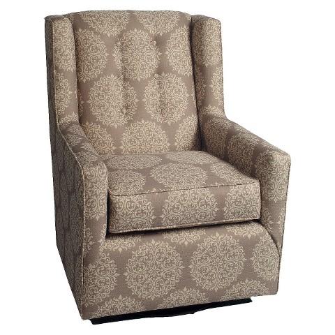 Little Castle Custom Upholstered Charleston Swivel Glider - Assorted